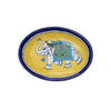 Yellow with Blue Elephant Soap Dish by Matr Boomie - origintraders
