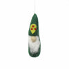 Christmas Ornament: Gnome, Green - Global Groove (H) - origintraders