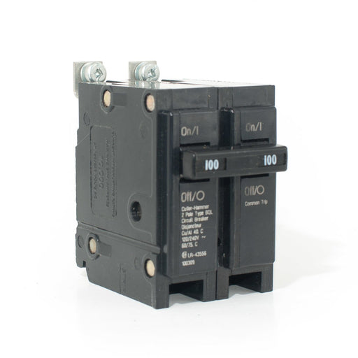 BQL2100 - Commander 100 Amp Double Pole Bolt-On Circuit Breaker