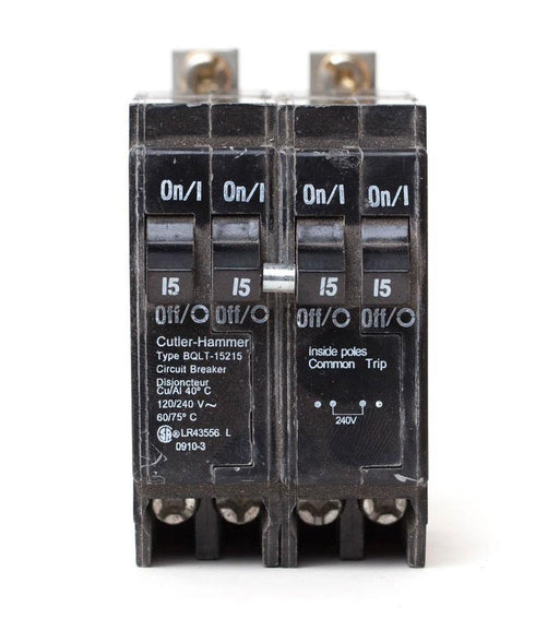 BQLT-15-215 - Commander Quad 15/15/15/15 amp Bolt-On Circuit Breaker