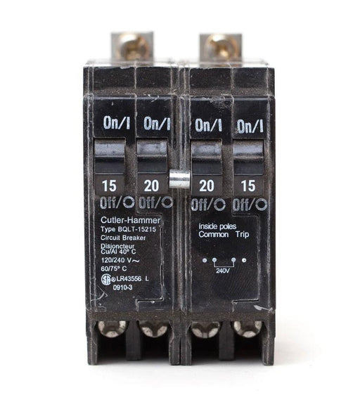 BQLT-15-220 - Commander Quad 15/20/20/15 amp Bolt-On Circuit Breaker