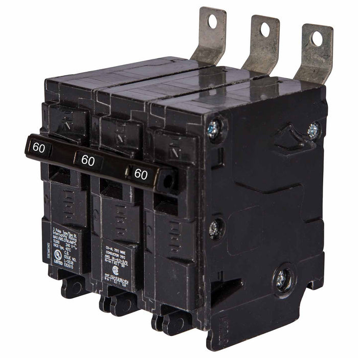 B360 - Siemens 60 Amp 3 Pole Bolt-On Circuit Breaker