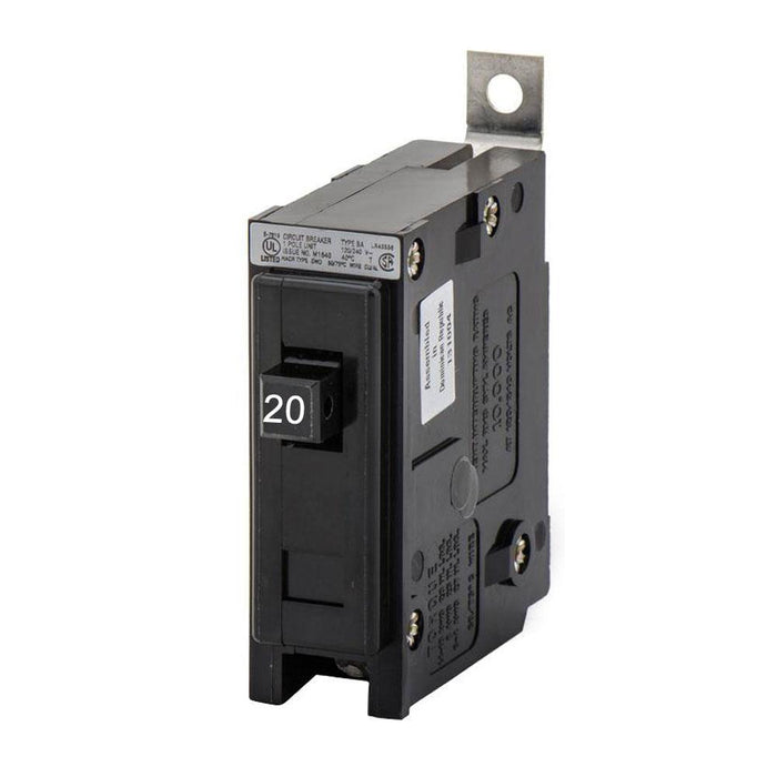 BAB1020 - Eaton Cutler-Hammer 20 Amp Single Pole Bolt-On Circuit Breaker