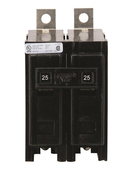 BAB2025 - Eaton Cutler-Hammer 25 Amp Double Pole Bolt-On Circuit Breaker