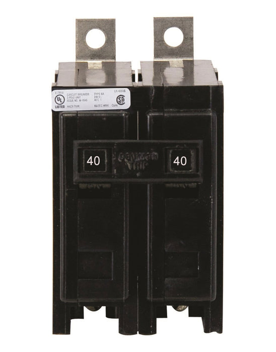 BAB2040 - Eaton Cutler-Hammer 40 Amp Double Pole Bolt-On Circuit Breaker