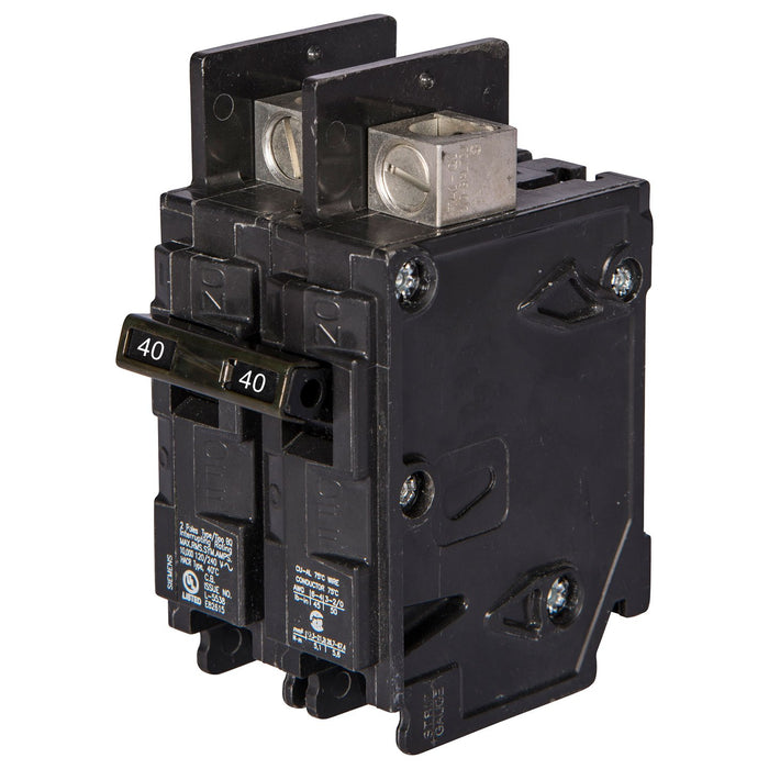 BQ2B040 - Siemens 40 Amp Double Pole 120/240V BQ Bolt-On Circuit Breaker