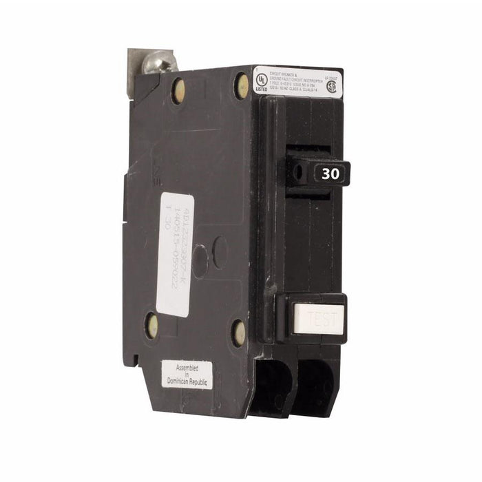 BQGF30 - Commander 30 Amp 1 Pole Bolt-On GFCI Circuit Breakers