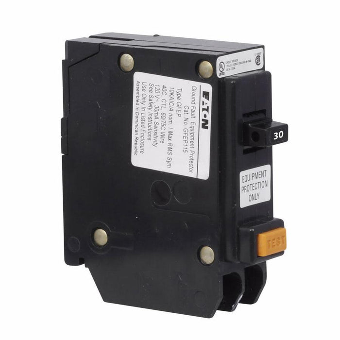GFEP130 - Eaton Cutler-Hammer 30 Amp 1 Pole Ground Fault Equipment Protection Circuit Breaker