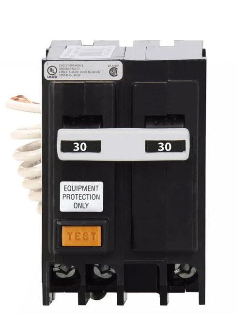 GFEP230 - Eaton Cutler-Hammer 30 Amp 2 Pole Ground Fault Equipment Protection Circuit Breaker