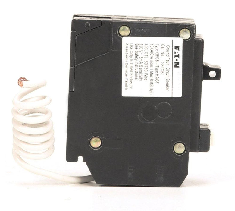 GFTCB120 - Eaton Cutler-Hammer 20 Amp Single Pole GFCI Circuit Breaker