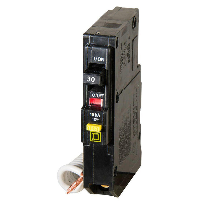 QO130GFI - Square D 30 Amp Single Pole GFCI Circuit Breaker
