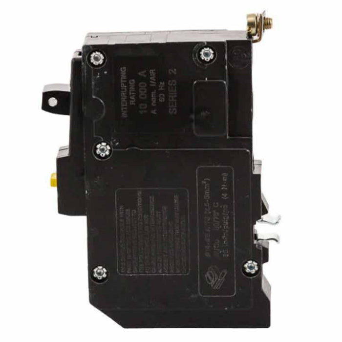 QOB120EPD - Square D 20 Amp 1 Pole 30 mA Ground Fault (GFCI) Breaker