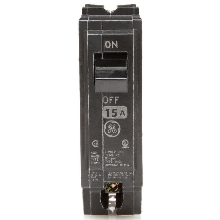 THQL1115 - GE 15 Amp Single Pole Circuit Breaker