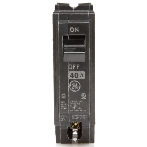THQL1140 - GE 40 Amp Single Pole Circuit Breaker