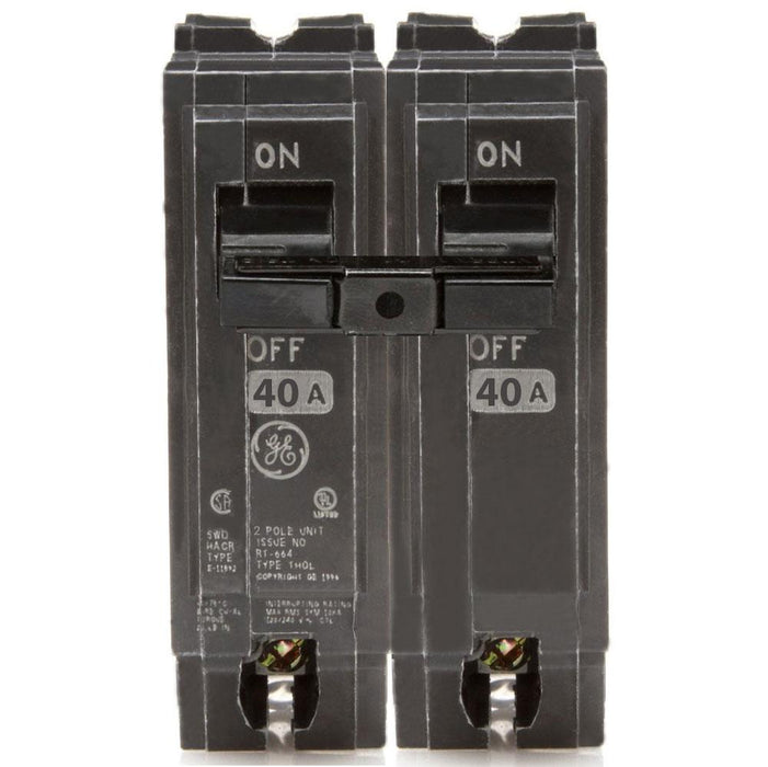 THQL2140 - GE 40 Amp Double Pole Circuit Breaker