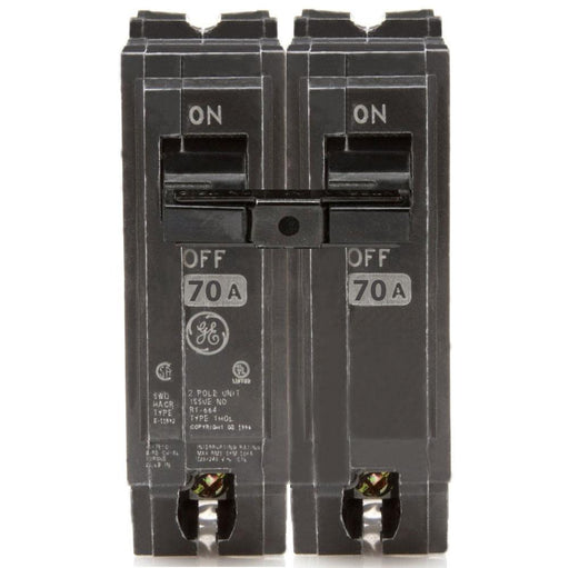 THQL2170 - GE 70 Amp Double Pole Circuit Breaker