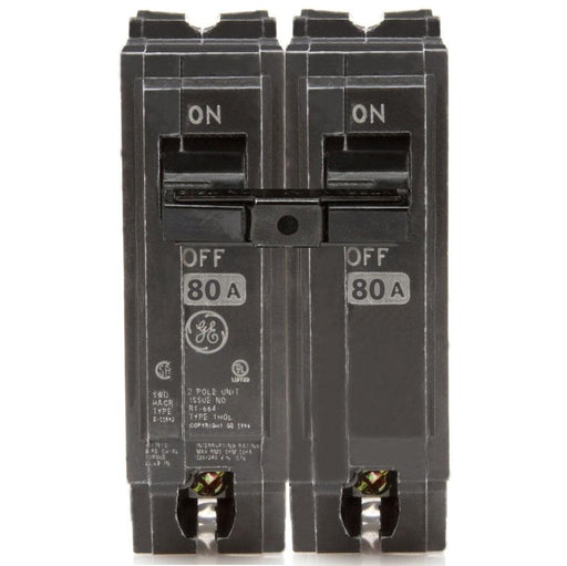 THQL2180 - GE 80 Amp Double Pole Circuit Breaker