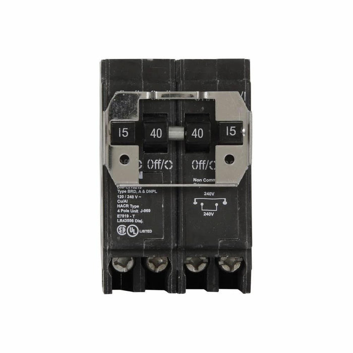 DNPL215240 - Eaton Cutler-Hammer 40 Amp 2 Pole 240 Volt Plug-In Circuit Breakers