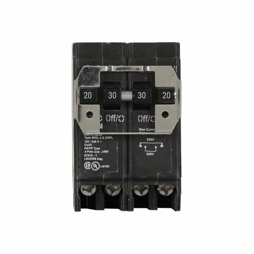 DNPL220230 - Eaton Cutler-Hammer Quad 20 Amp Double Pole & 30 Amp Double Pole Circuit Breaker