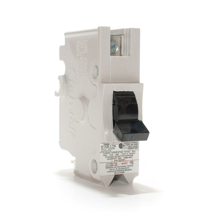 NA25 - Federal Pioneer 25 Amp Single Pole Circuit Breaker
