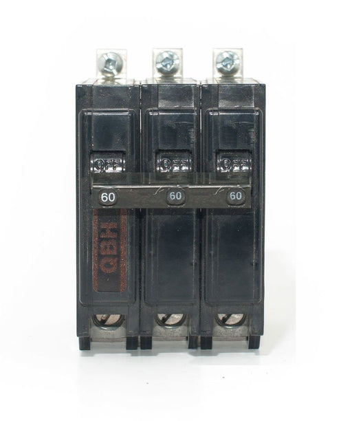 QBH3125 - Commander 125 Amp 3 Pole Bolt-On Circuit Breaker