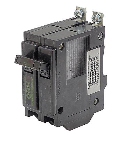 QBH2125 - Commander  125 Amp Double Pole Circuit Breaker