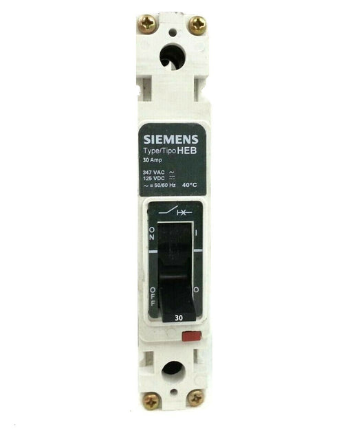 HEB1B030B - Siemens 30 Amp 1 Pole 277 Volt Bolt-On Molded Case Circuit Breaker