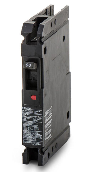 HED41B090 - Siemens 90 Amp 1 Pole 277 Volt Bolt-On Molded Case Circuit Breaker