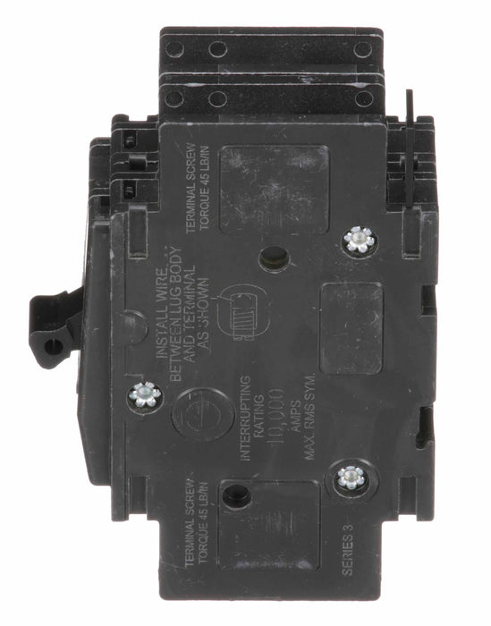 QOU2125 - Square D 125 Amp 2 Pole 240 Volt Bolt-On Molded Case Circuit Breaker