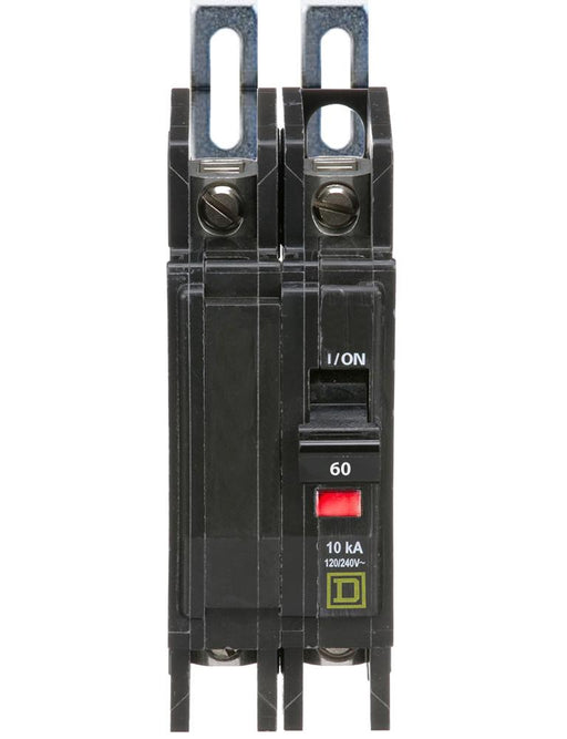 QOU260 - Square D 60 Amp 2 Pole 240 Volt Miniature Circuit Breaker
