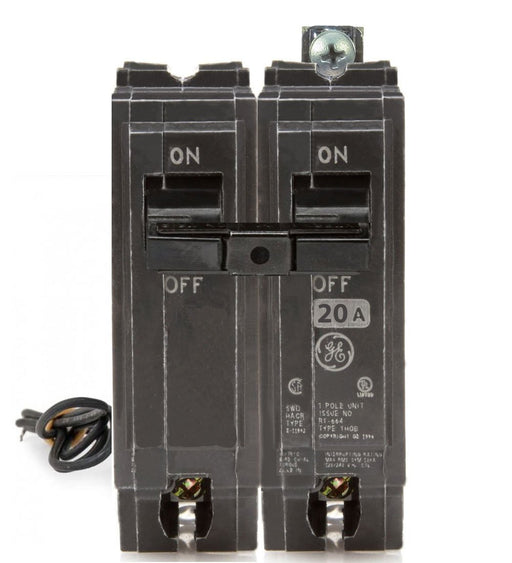 THQB1120ST1 - GE 20 Amp 1 Pole Bolt-On Shunt Trip Circuit Breaker