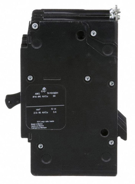 EDB26100 - Square D 100 Amp 2 Pole 600 Volt Bolt-On Molded Case Circuit Breaker