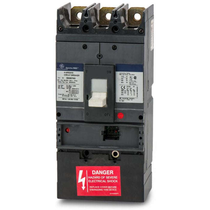 SGHA36AT0400 - GE  400 amp 3 pole Circuit Breaker Frame