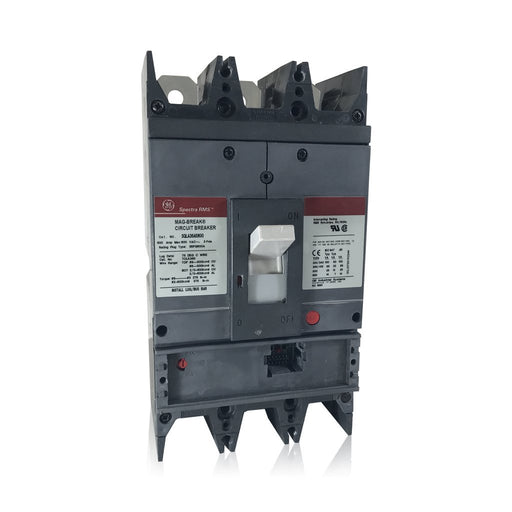 SGLA36AI0600 - GE 600 amp 3 pole 600 Volt Bolt-On Molded Case Circuit Breaker