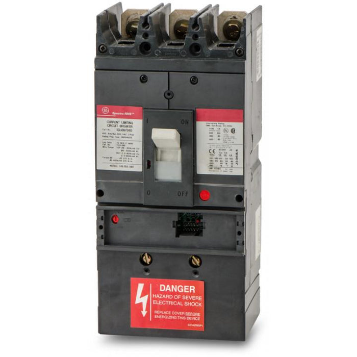 SGPA36AT0400 - GE 400 amp 3 pole 600 Volt Bolt-On Molded Case Circuit Breaker