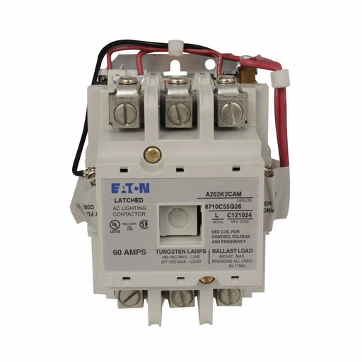 A202K2CAM - Eaton Cutler-Hammer 60 Amp 3 Pole 120 Volt Non-Reversing Magnetic Contactor