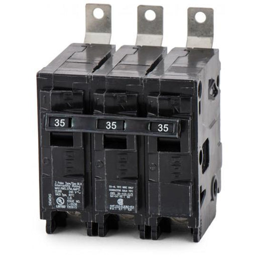 B335H - Siemens 35 Amp 3 Pole 240 Volt Molded Case Circuit Breaker
