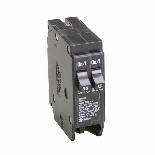 BD3015 - Cutler-Hammer 15 Amp 1 Pole 120 Volt Plug-on Circuit Breaker