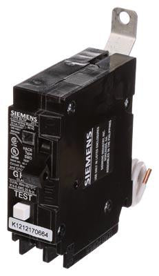 BF115H - Siemens 15 Amp 1 Pole 120 Volt Molded Case Circuit Breaker