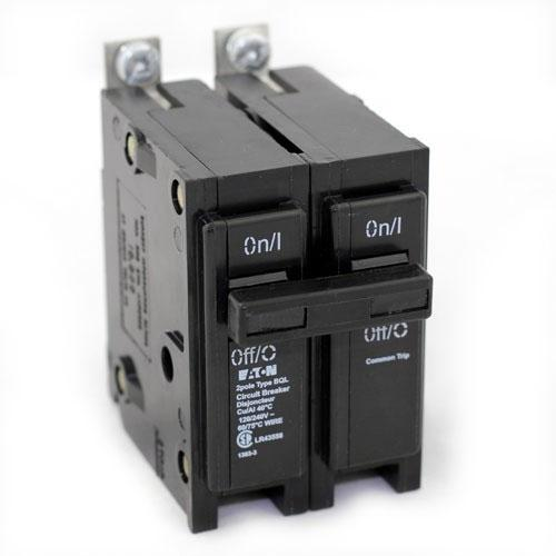 BQL250 - Commander 50 Amp Double Pole Bolt-On Circuit Breaker