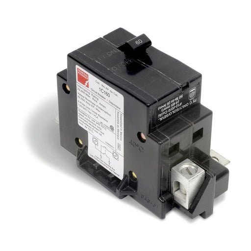 1C60 - Federal Pioneer Stab-lok 60 Amp Double Pole Circuit Breaker