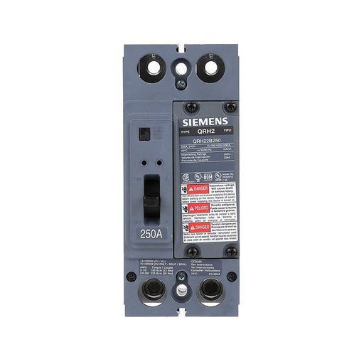 QRH22B250 - Siemens 250 Amp 2 Pole 240 Volt Bolt-On Molded Case Circuit Breaker