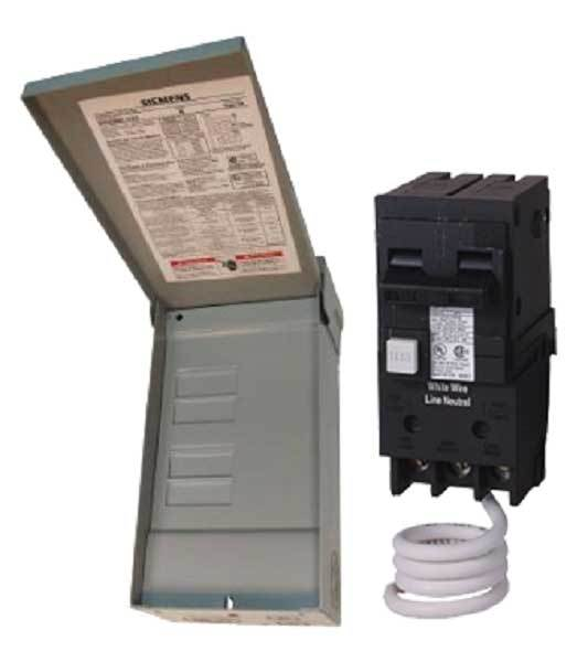 W0408ML1125-30 Siemens Spa/Hot Tub Outdoor Panel with 30A GFCI breaker