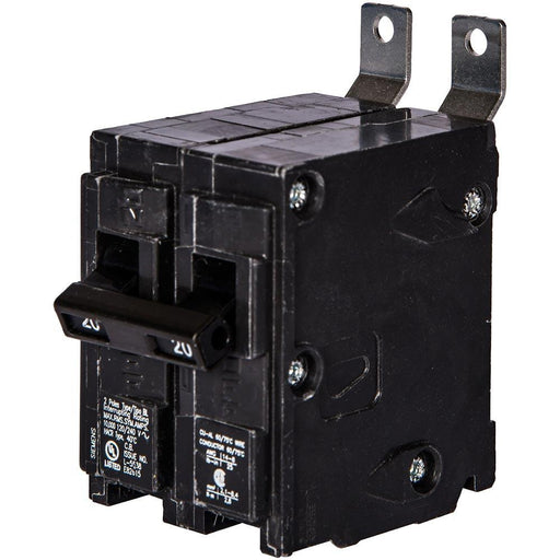 B220HID - Siemens 20 Amp 2 Pole 240 Volt Bolt-On Molded Case Circuit Breaker