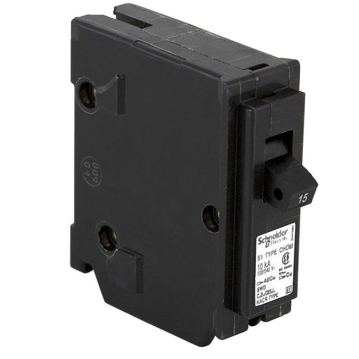 CHOM115 - HomeLine 15 Amp 1 Pole 120 Volt Plug-In Circuit Breaker