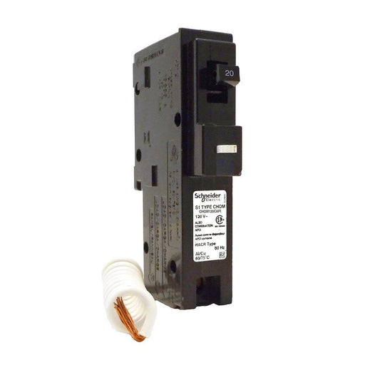 CHOM120CAFI - HomeLine 20 Amp 1 Pole 120 Volt Plug-In Circuit Breaker