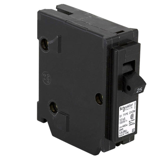 CHOM125 - HomeLine 25 Amp 1 Pole 120 Volt Plug-In Circuit Breaker