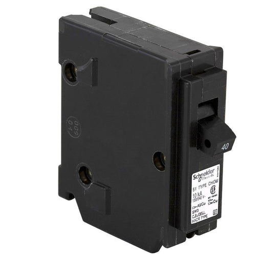 CHOM140 - HomeLine 40 Amp 1 Pole 120 Volt Plug-In Circuit Breaker