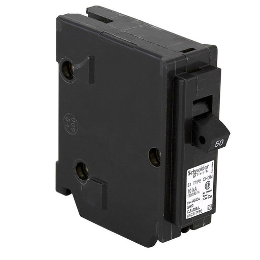 CHOM150 - HomeLine 50 Amp 1 Pole 120 Volt Plug-In Circuit Breaker