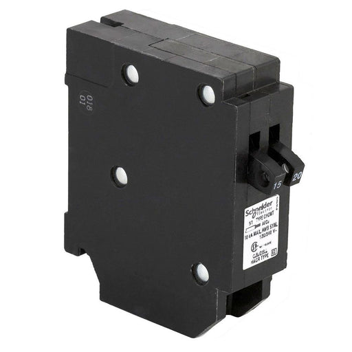 CHOMT1520 - HomeLine 20 Amp 2 Pole 240 Volt Plug-In Circuit Breaker